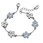 Fiorelli Station Bracelet With Flowers