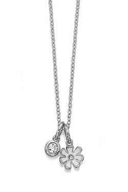 Fiorelli White Flower And Necklace