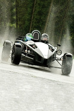 Aston Martin and Ariel Atom Ride