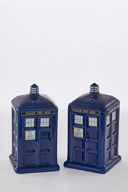 Doctor Who Salt and Pepper Shakers