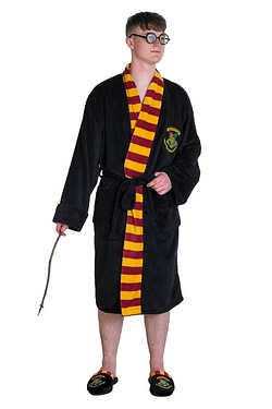 Harry Potter Hogwarts Bath Robe