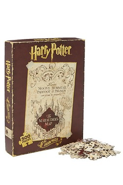 Harry Potter Marauder's Map Jigsaw