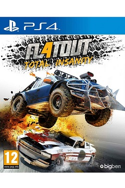 PS4: Flat Out 4 Total Insanity