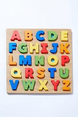 2 in 1 3D Puzzles Number and Alphabet