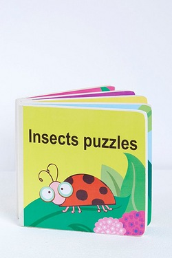 Jigsaw Book - Insects