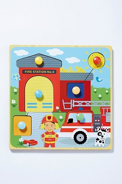 Fire Station Story Puzzle