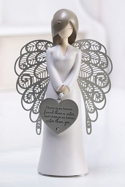 Figurine With Heart - Sister