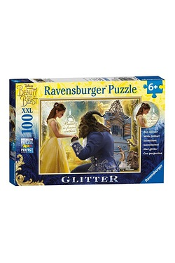 Disney Beauty and The Beast Glitter...
