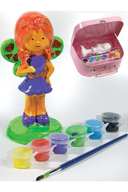 Paint Your Own Fairy Set In Case