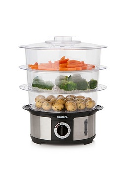 Sabichi 3-Tier Stainless Steel Elec...