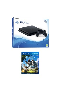 PS4: 500GB Slim with Horizon Zero Dawn
