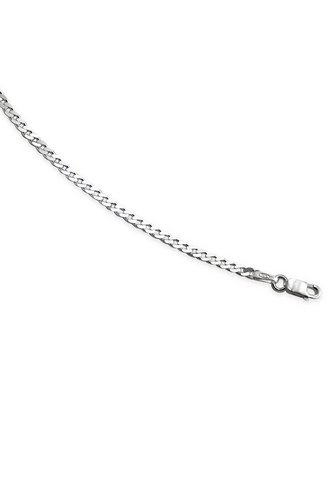 "Image for Sterling Diamond Cut Curb Chain 16"" from ace"