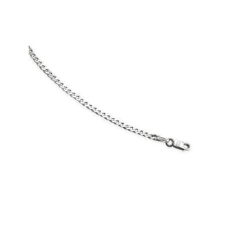 "Image for Sterling Diamond Cut Curb Chain 18"" 12.9gm from ace"