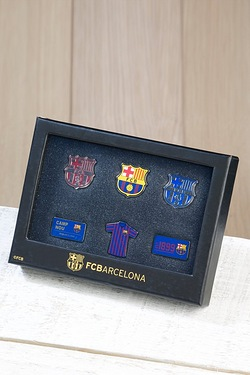 Football Badge Set - Barcelona