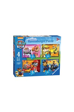 4 in 1 Puzzle - Paw Patrol