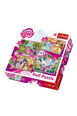 4 in 1 Puzzle - My Little Pony