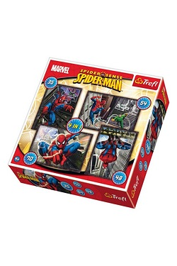 4 in 1 Puzzle - Spiderman