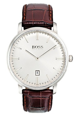 Hugo Boss Tradition Brown Leather S...