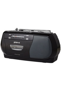 Groov-e Portable Cassette Player/Recorder with Radio