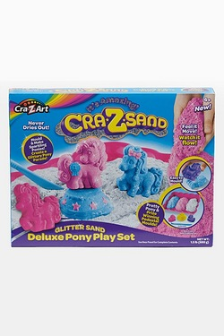 Crazsand Glitter Pony Playset