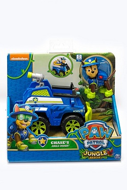 Paw Patrol Chases Jungle Cruiser
