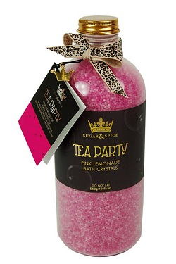 Sugar and Spice Tea Party Bath Crys...