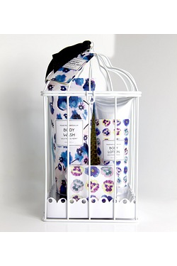 Pear Tree Birdcage Bathing Set