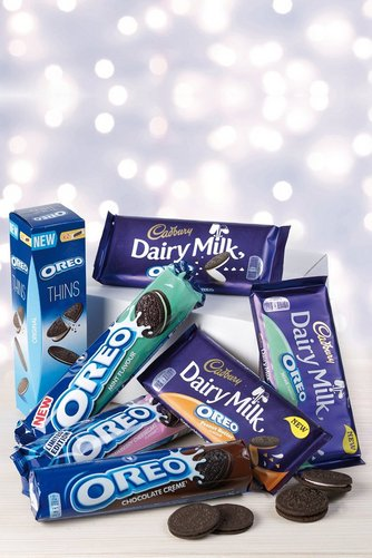 Image for Cadbury/Oreo Chocolate and Biscuit Hamper from ace