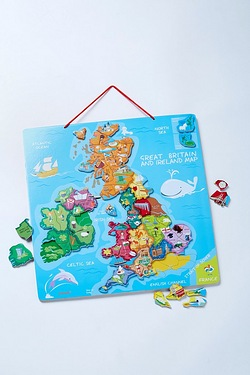 Magnetic Map UK and Ireland