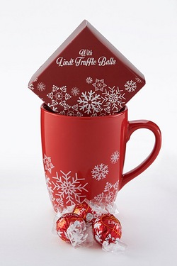 Mug and Lindt Chocolate Set