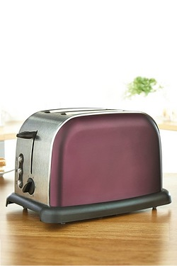 EGL Purple 2 Slice Toaster