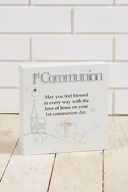 Said with Sentiment - 1st Communion Wall Art