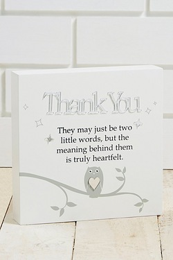 Said with Sentiment  - Thank You Wall Art