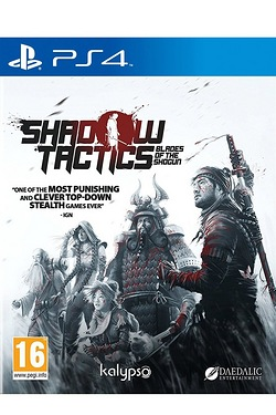 PS4: Shadow Tactics: Blades Of The ...