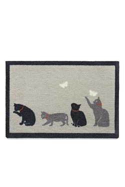 Howler and Scratch Catch Door Mat