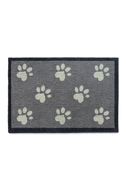 Howler and Scratch Big Paw Door Mat