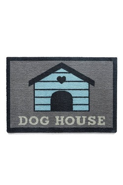 Howler and Scratch Dog House Door Mat