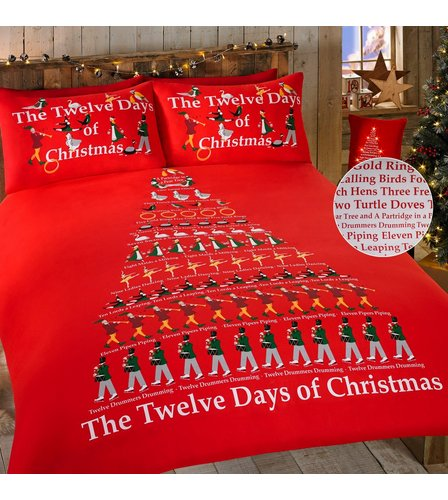 Image for The 12 Days Of Christmas Duvet Set from ace