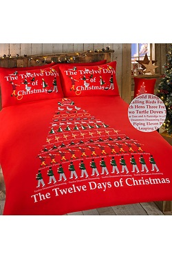 The 12 Days Of Christmas Duvet Set