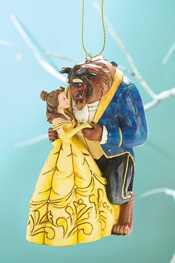 Disney Hanging Ornament Belle and B...