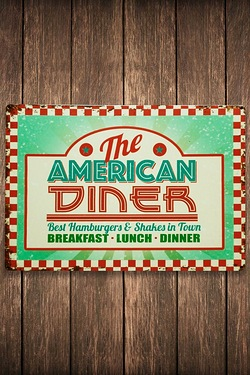 The American Diner Sign