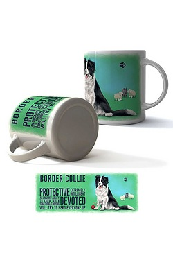 Border Collie Boxed Mug