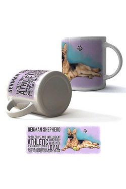 German Shepherd Boxed Mug