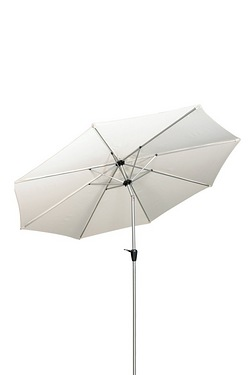 Crank and Tilt Cream Parasol