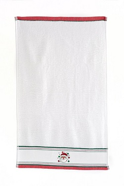 Santa Embroidered Towels