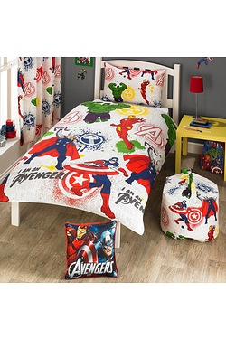 Marvel Avengers Single Duvet Set