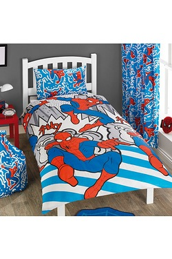 Ultimate Spiderman Single Duvet Set