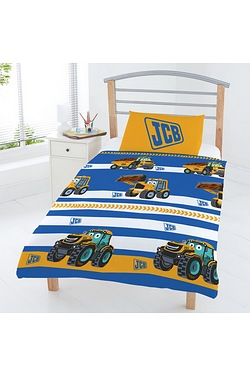 JCB Stripe Junior Bedding