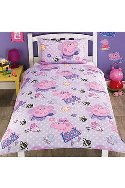 Peppa Pig Rotary Single Duvet Set