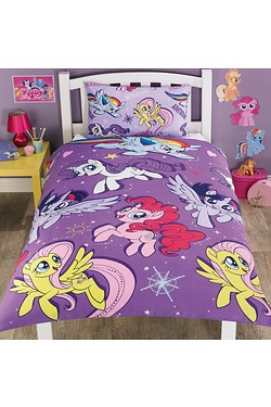 My Little Pony Rotary Single Duvet Set